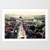 poland Art Prints featuring Gdansk, Poland by Erik Witsoe Photography