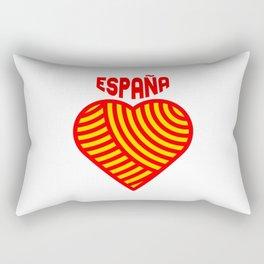 amo españa Rectangular Pillow