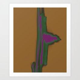 Dancing Light #4 2011 Art Print