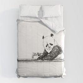 Panda in a tub. Comforters