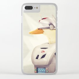 Justice Ducks - The Hero Clear iPhone Case
