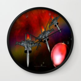 Deep Space Expedition - 028 Wall Clock