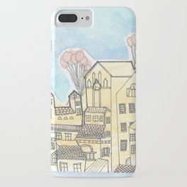 Space Town iPhone Case