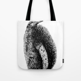Penguin sketch Tote Bag