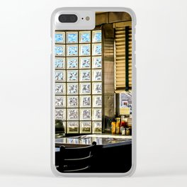American Diner Clear iPhone Case