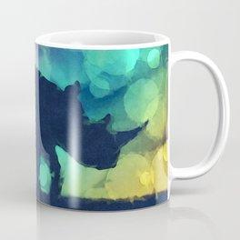 Pop Art Rhinoceros Coffee Mug