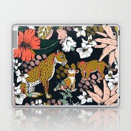 Animal print dark jungle Laptop & iPad Skin