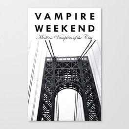 Vampire Weekend / George Washington Bridge Canvas Print