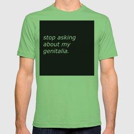genitalia T-shirt