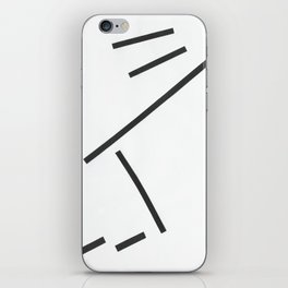 Diagonals iPhone Skin