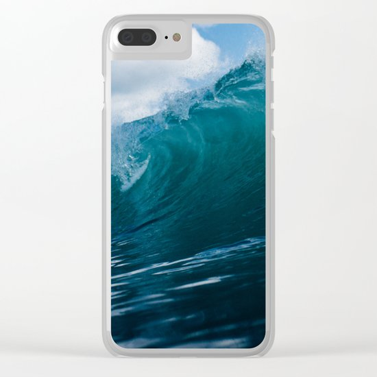 Tidal Clear iPhone Case