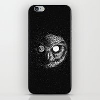 iPhone & iPod Skins featuring Moon Blinked by Kerby Rosanes