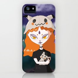 aghastly-friends iPhone Case