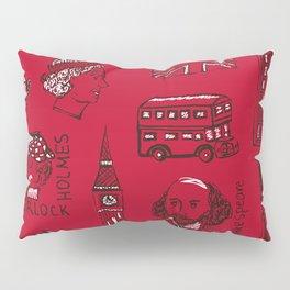 English pattern Pillow Sham
