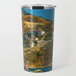 Taganga Town Landscape, Colombia Travel Mug