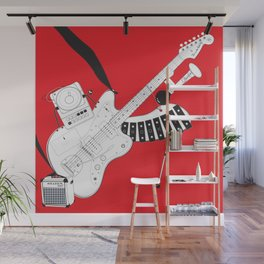 One-Man Band Wall Mural