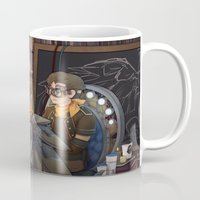 tinker bell Mugs featuring Tinker by Magical Playlist