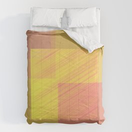 Abstract hot desert Comforters
