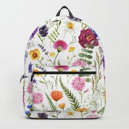 Wildflower Giraffe Backpack
