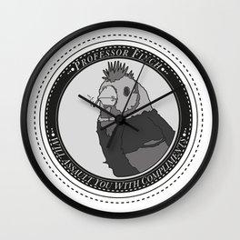 Punk Finch Wall Clock