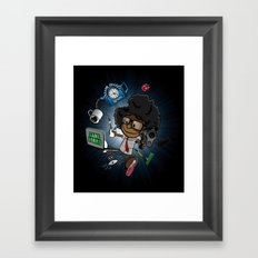 Moss's Happy Place Framed Art Print