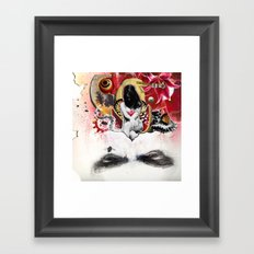 MINGA x Sleepless is the Watchful Eye Framed Art Print