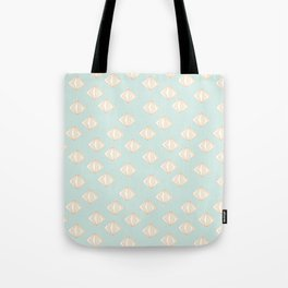 Spinning Gems Mint Tote Bag