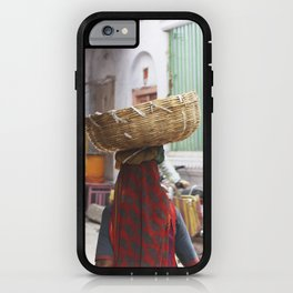 Indian woman iPhone Case
