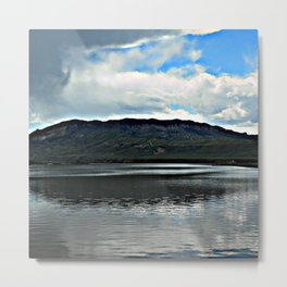 Surprise Rainstorm Metal Print