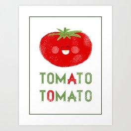 Tomato-Tomato Art Print