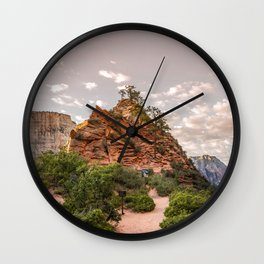 Angel's Rest Wall Clock
