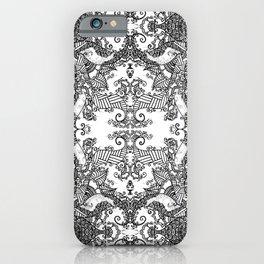 Ornament - Tree of Life - Rebirth - Mehndi Love - White #3 iPhone Case