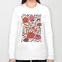 number Long Sleeve T-shirts featuring Nature number 2. by Jo Cheung Illustration