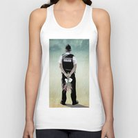 bill Tank Tops featuring the Bill by Vin Zzep