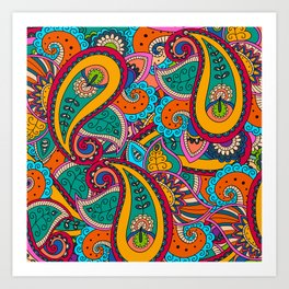 African Style No22 Art Print