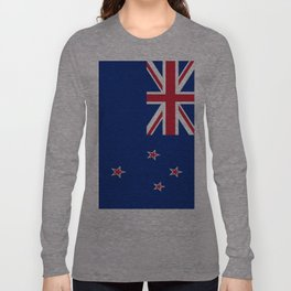 The Flag of New Zealand Long Sleeve T-shirt