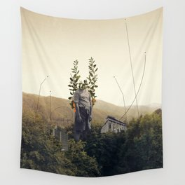 Forest Angel Wall Tapestry