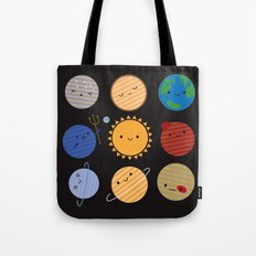 Say Hello to the Solar System Tote Bag