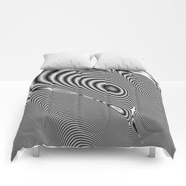 Fractal Op Art 1 Comforters