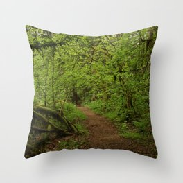 The Road to Faerie Throw Pillow