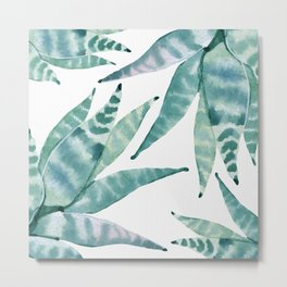 Desert Succulents Metal Print