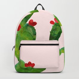 Blush pink - cactus Backpack