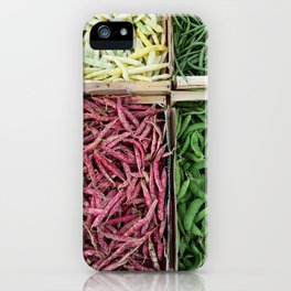 Beans of various colors iPhone Case
