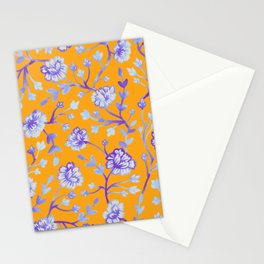 Watercolor Peonies - Sapphire Marigold Stationery Cards