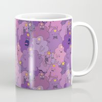 lumpy space princess Mugs featuring Lumpy Space Princess by Beesants