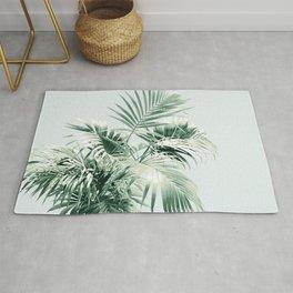 Palm Leaf Vibes #1 #tropical #decor #art #society6 Rug