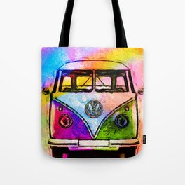 Hippie Adventures Tote Bag