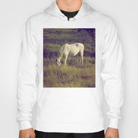 horses Hoodies featuring Horses by Pedro Antunes