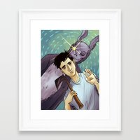 donnie darko Framed Art Prints featuring Donnie Darko by Andy Isabel