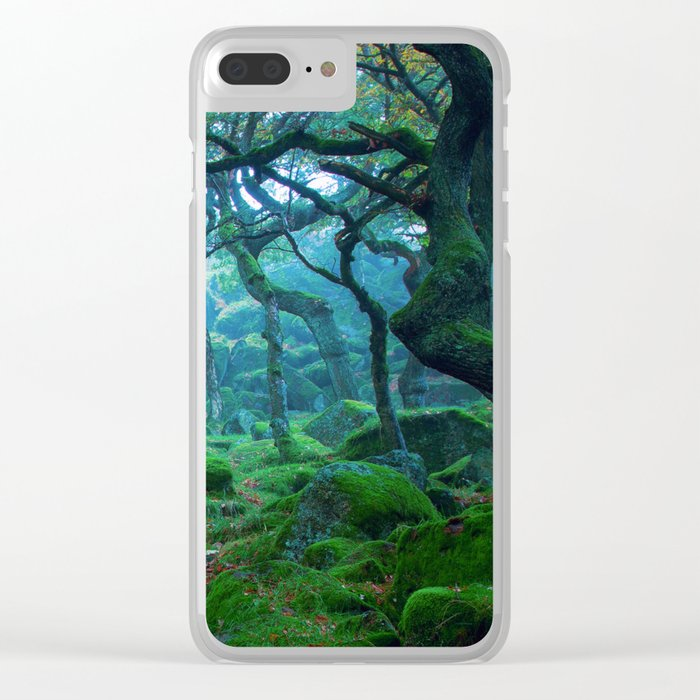 Forest #woods Clear iPhone Case